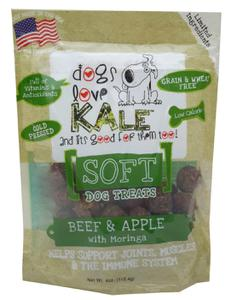 SOFT Dog Treats (Beef & Apple w/Morgina)