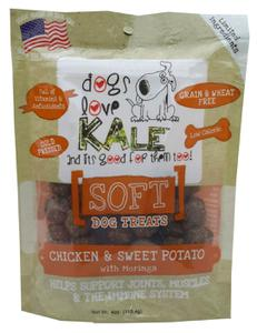 SOFT Dog Treats (Chicken & Sweet Potato w/Morgina)