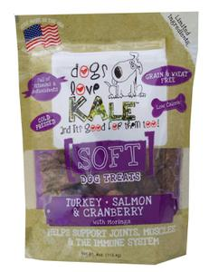 SOFT Dog Treats (Turkey/Salmon & Cranberry w/Morgina)