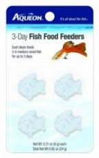 Aqueon Food Fish Feeder 3 Day 4pk