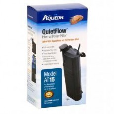 Aqueon QuietFlow Internal Power Filter Small 15gal