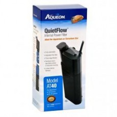 Aqueon QuietFlow Internal Power Filter Large 40gal
