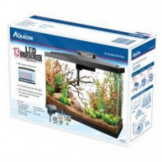 Aqueon Kit LED Aquarium Widescreen 13 gallon