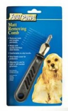 Four Paws Professional Mat Removing Comb