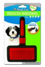 Four Paws Ultimate Touch Slicker Wire Brush for Puppies Gentle