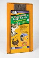 Four Paws Super Catnip Cat Scratcher House