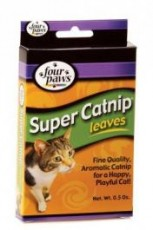 Four Paws Super Catnip Leaves & Blossoms 0.5oz