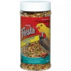 Kaytee Fiesta Canary/Finch Tropical Fruit 10oz Jar