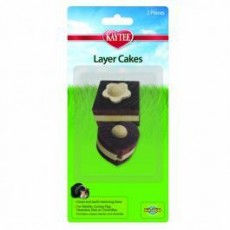 Kaytee Chew Toy Layer Cakes 2pk