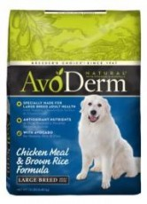 Breeder's Choice AvoDerm Natural Chicken Meal/Brown Rice Large Breed Adult 15lb
