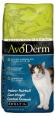 Avoderm Natural Weight Control Hairball Corn Free Cat 6lb