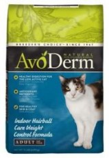 Avoderm Natural Weight Control Hairball Corn Free Cat 11lb