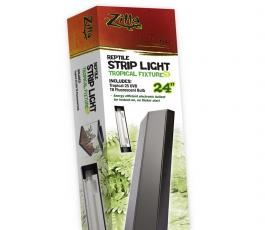 Zilla Reptile Strip Light Tropical Fixture T8 24in