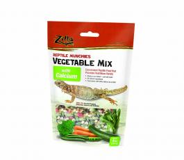 Zilla Food Reptile Munchies Vegetable Mix with Calcium 4oz