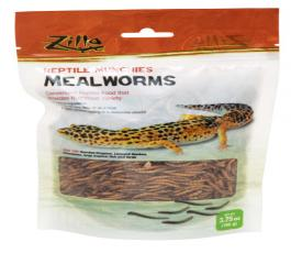 Zilla Food Reptile Munchies Mealworm 3.75Oz