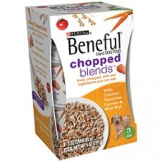 Purina Beneful Chopped Blends With Chicken Tomatoes Carrots & Wild Rice Dog Food 3-3 oz. Cans