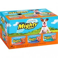 Purina Mighty Dog Dog Food Variety Pack 24-5.5 oz. Cans