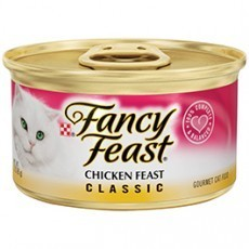 Purina Fancy Feast Classic Chicken Feast Cat Food 3 oz. Can