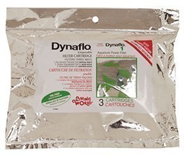 Living World Dynaflo No.1 Filter Cartridge, 3-pack