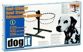 Dogit Adjustable Diner Stand, fits (2) 67.2 ounce bowls