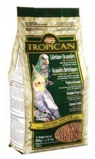 Tropican Lifetime Maintenance Cockatiel Granules, 1.8 pounds, standup zip bag