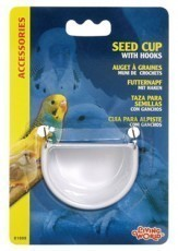 Living World Seed Cup with Hook, Large