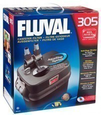 Fluval 305 Canister Filter, 260 gallons per hour