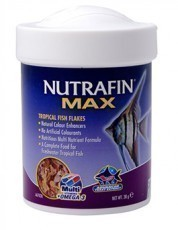 Nutrafin Max Tropical Fish Flakes, 1.34 ounces