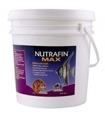 Nutrafin Max Tropical Fish Flakes, 4.4 pounds