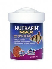 Nutrafin Max Tropical Fish Pellet, 2.82 ounces