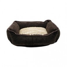 Catit Style Cuddle Bed, Savage, Brown/Beige, X-Small