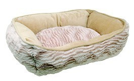Catit Style Cuddle Bed, Wild Animal, Beige X-Small