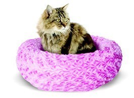 Catit Style Donut Bed, Rosebud, Pink X-Small
