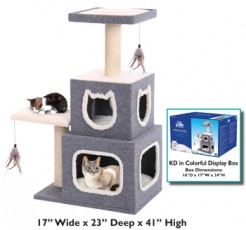 CAT FURNITURE Duplex Cat Tower