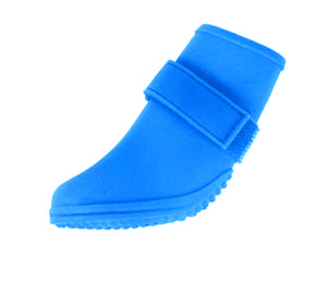 Jelly Wellies - Rain or Shine Dog Boot , Blue , Large