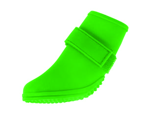 Jelly Wellies - Rain or Shine Dog Boot , Green , Small