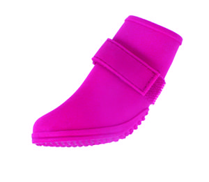 Jelly Wellies - Rain or Shine Dog Boot , Pink, X-Small