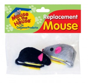 Cat Dancer Replacement Mouse/Pkg of 2