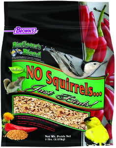5 lb. Bird Lover's Blend® No Squirrels…Just Birds!™