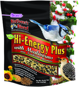 5 lb. Bird Lover's Blend® Hi-Energy Plus™ with Mealworms