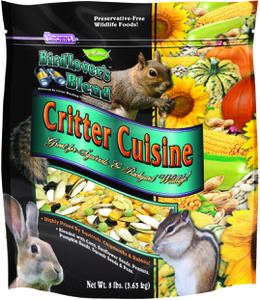 8 lb. Bird Lover's Blend® Critter Cuisine with Squash and Pumpkin Seeds