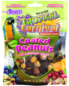 3.5 oz. Tropical Carnival® Natural Mixed Coated Peanuts