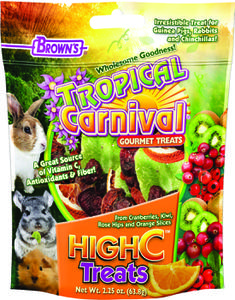 2.25 oz. Tropical Carnival® High C Treat for Small Animals
