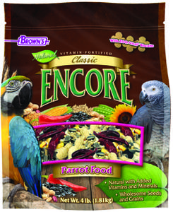 4 lb. Encore® Classic Natural Parrot Food