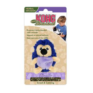 KONG Catnip Botanicals Refillable Lavender Hedgehog