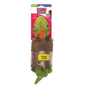 KONG Cat Scratcher with Toy Turtle