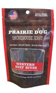 Prairie Dog Pet Products Smokehouse Bites Beef 4 oz