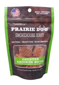 Prairie Dog Pet Products Smokehouse Bites Country Chicken 4 oz