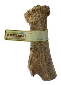 Prairie Dog Pet Products Deer Monster Antler 4-5 inches