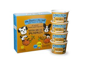 The Bear & The Rat Pumpkin 4-Pack Frozen Yogurt Treats